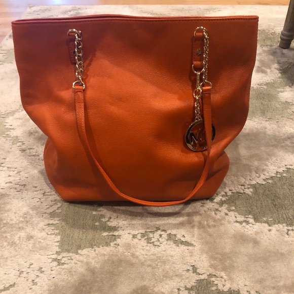 Michael Kors Handbags - Michael Kors Orange Purse
